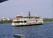 Walt Disney World ferry boat